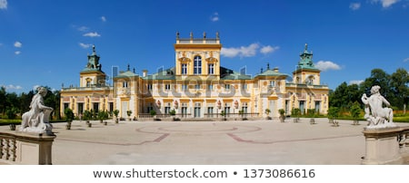 Wilanow palace in Warsaw Stock photo © ldambies