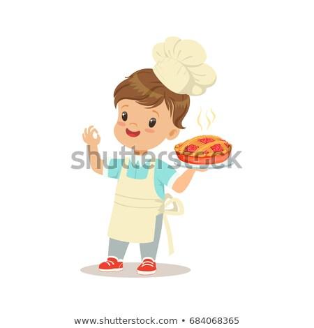 Cartoon Child Bakers Stock photo © Krisdog