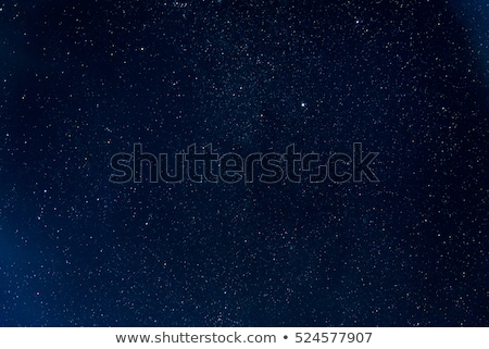beautiful blue night sky with many stars stock photo © vapi