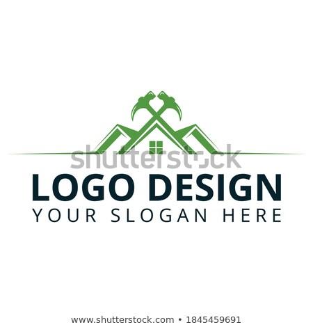 creative real estate logo design for brand identity company pro stock photo © davidarts