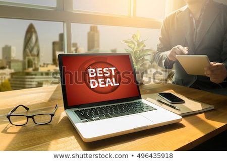 Folder in Catalog Marked as Best Deals. Stock photo © tashatuvango