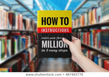 Improvement Concept on Book Title. Stock photo © tashatuvango