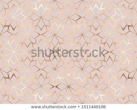 winter seamless pattern design with snowflake ornaments stock photo © pravokrugulnik