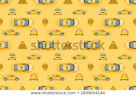 Verkeer patroon weg geïllustreerd blokken Stockfoto © Soleil