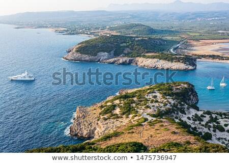 strand · regio · Griekenland · oude · water - stockfoto © ankarb