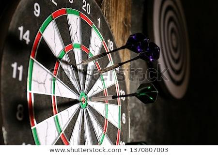 Darts darts tábla siker Stock fotó © devon