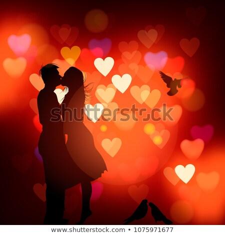 paixão · homem · mulher · amor · relação - foto stock © ikopylov