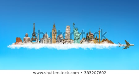 World Flight destinations Stock photo © alexaldo