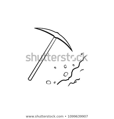 彫刻刀 手描き いたずら書き アイコン 手 ストックフォト © RAStudio