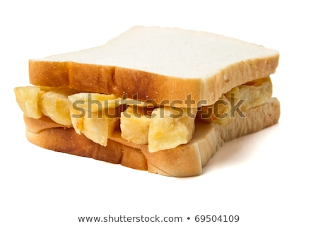 traditional english chip butty sandwich Stock photo © zkruger