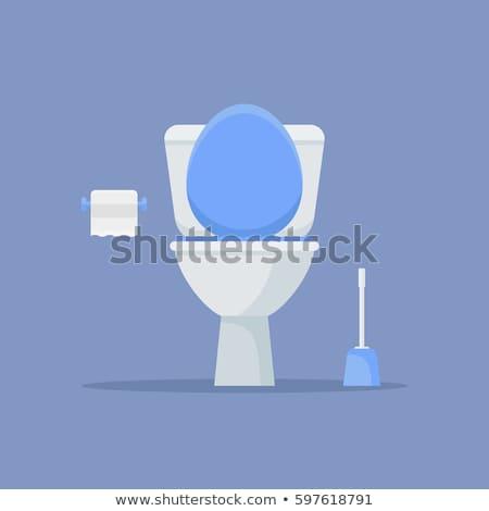 rioolwater · toilet · kom · riool · vector · water - stockfoto © makyzz