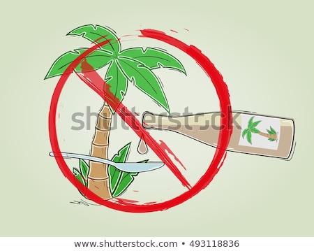 Palm · нефть · лист · оранжевый · промышленности · красный - Сток-фото © popaukropa