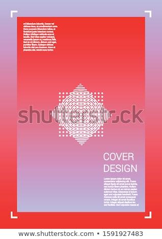 vetor · colorido · círculo · forma · abstrato · forma - foto stock © robuart