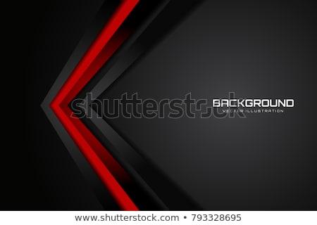 Abstract Rood zwarte kleur helling contrast Stockfoto © kang1993