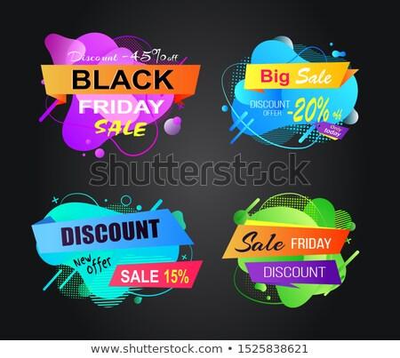 Лучший · выбор · супер · продажи · плакат · текста · образец - Сток-фото © robuart