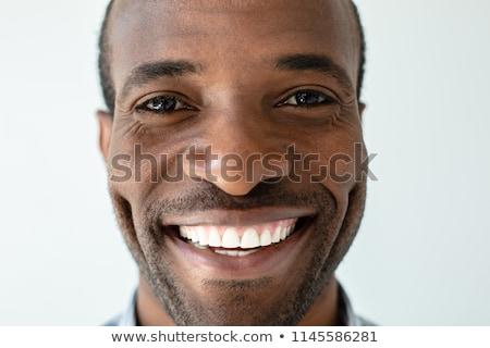 ハンサム · 小さな · ビジネスマン · あごひげ · 立って - ストックフォト © deandrobot