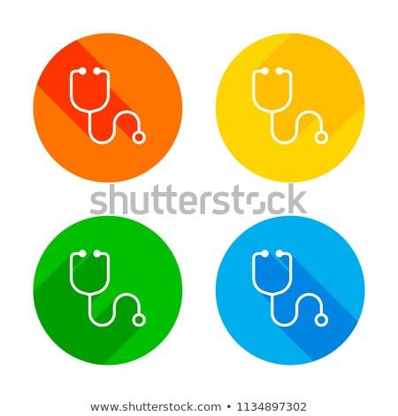 kardiyoloji · hasta · vektör · ikon · örnek · stil - stok fotoğraf © imaagio