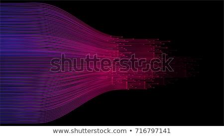 Acelerar linhas tecnologia dados conexão abstrato Foto stock © Andrei_