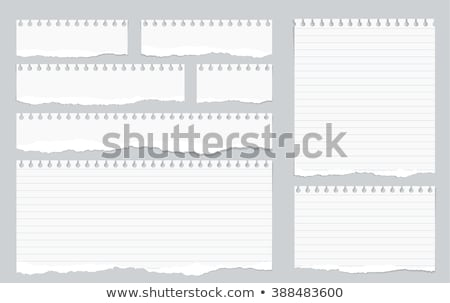 Notebook paper  stock photo © creatOR76