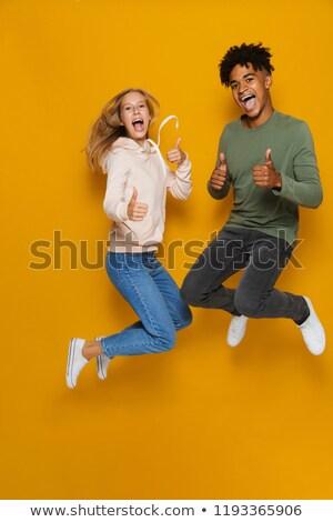 Fotografia · szczęśliwy · para · stałego · wraz - zdjęcia stock © deandrobot