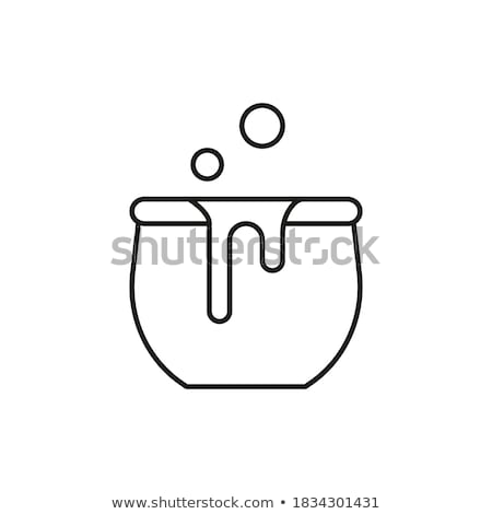 Poisonous creatures flat concept icons Stock photo © netkov1