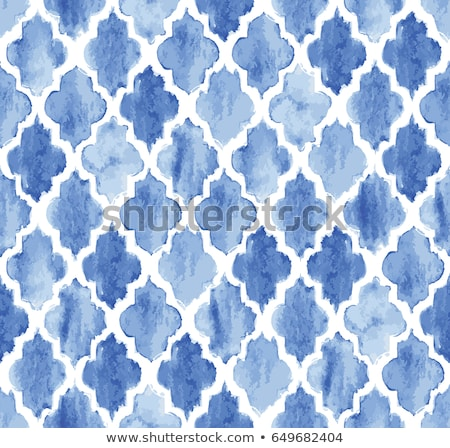 Quatrefoil seamless vector pattern. stock photo © yopixart