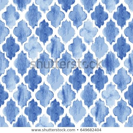 Quatrefoil seamless vector pattern. Stock photo © yopixart