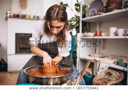 Making pottery Stock photo © pressmaster