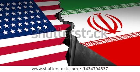 Iran midden oosten USA Verenigde Staten crisis Stockfoto © Lightsource