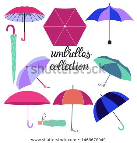コレクション 異なる ファッション 傘 ベクトル 手描き ストックフォト © Margolana