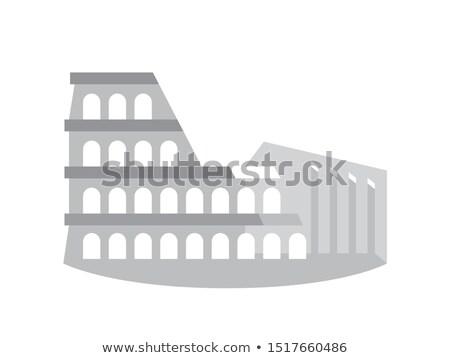 eski · ören · Roma · İtalya · eski · Roma - stok fotoğraf © glasaigh