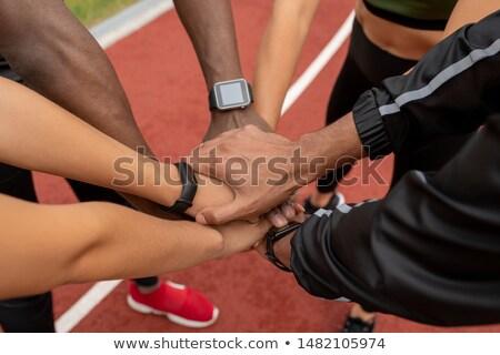手 いくつかの 小さな 多文化の 男性 女性 ストックフォト © pressmaster