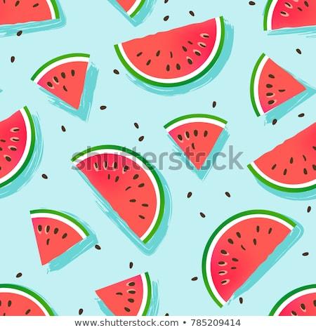 свежие · Sweet · природного · зрелый · арбуза - Сток-фото © freesoulproduction