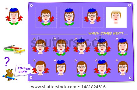 comes next game iq  puzzle riddle Stock photo © Olena