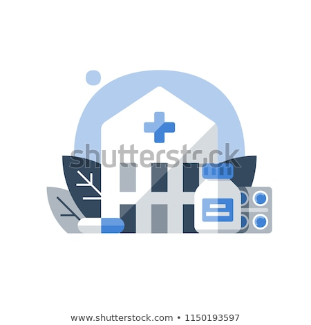 Drug rehab center concept vector illustration. Stock photo © RAStudio