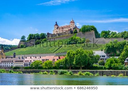 мнение крепость Германия старые моста вечер Сток-фото © borisb17