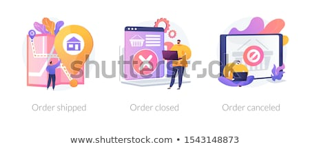 Cancellation Concept Stock photo © Lightsource