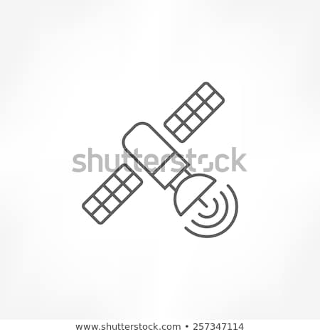 solar sensors icon vector outline illustration Stock photo © pikepicture