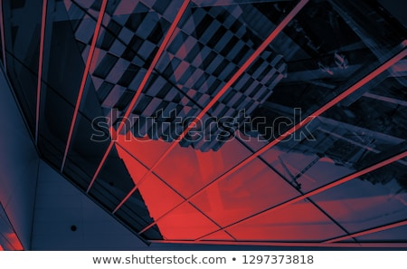 Abstract Dublin skyline kleur gebouwen Stockfoto © ShustrikS