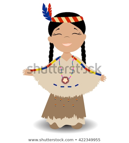 Thanksgiving Native American Kids Stock photo © Kakigori