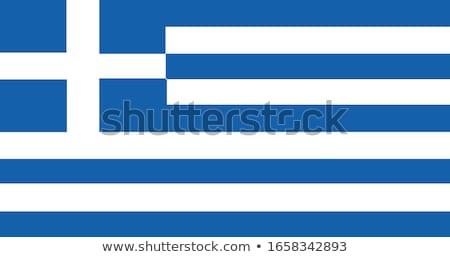 フラグ ギリシャ 単純な 孤立した 白 テクスチャ ストックフォト © kurkalukas