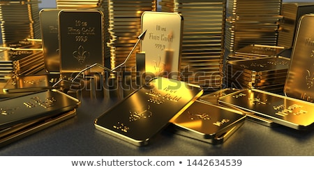 Stock photo: Gold price