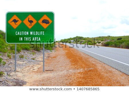 Australia Highway Sign stock photo © kbuntu