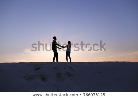 Two hands against each other. Ecology  Stock photo © deyangeorgiev