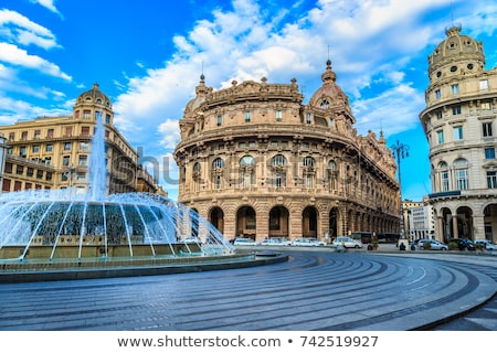 De Ferrari square in Genova, Italy Stock photo © Antonio-S