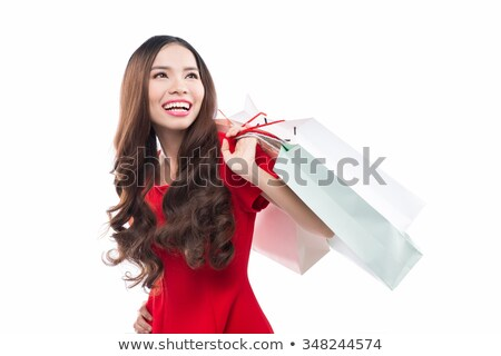 moderno · botas · beautiful · girl · branco · boutique - foto stock © rcarner