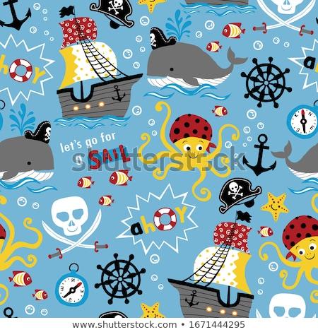 pirates pattern stock photo © ayelet_keshet