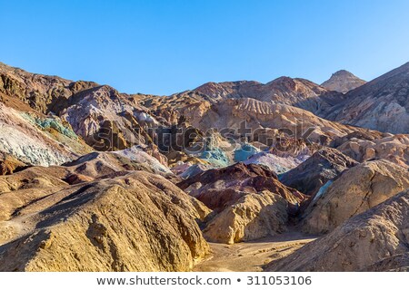 artists drive death valley national park california usa stock photo © phbcz