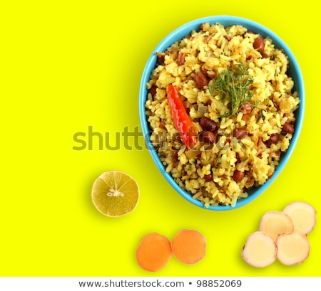 épicé indian déjeuner ingrédients citron Photo stock © mnsanthoshkumar