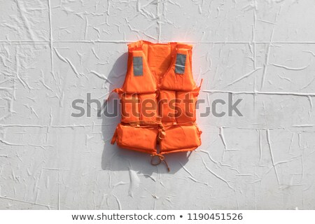 Orange life jacket. Stock photo © Hermione